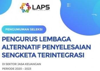 Pengumuman Lowongan Pengurus LAPST
